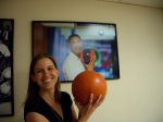 Erin at White House Bowling Ally