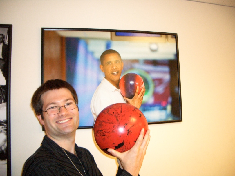 Dan at White House Bowling Ally