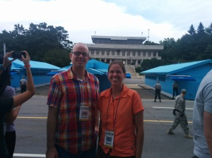 Me and Bobby at the DMZ.