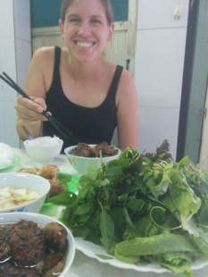 Street food in Hanoi.