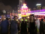 Autumn Festival celebrations in Hong Kong.