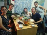 An AMAZING home-cooked autumn festival dinner.