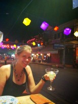 Started the evening off with a margarita, from one of the many Mexican restaurants around Siem Reap.