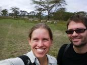 Zebra selfie.