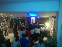 The celebration also included a children's music competition.