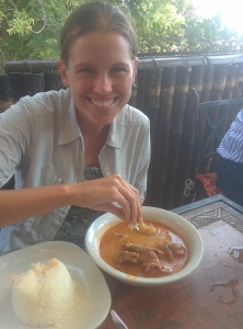 mmmm. Ground nut soup.