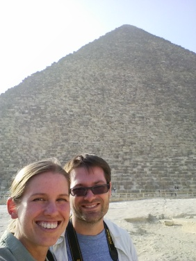 The Great Pyramid of Giza.