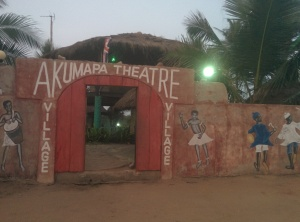 Kobi's bar, or umm, Akumapa Theater.