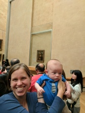 Theo and the Mona Lisa